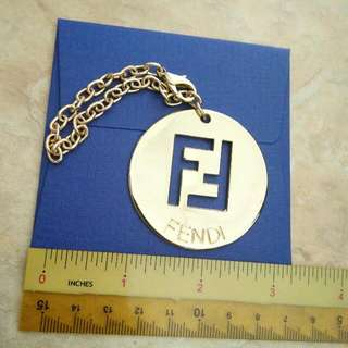 AUTHENTIC FENDI LARGE LOGO CHARM