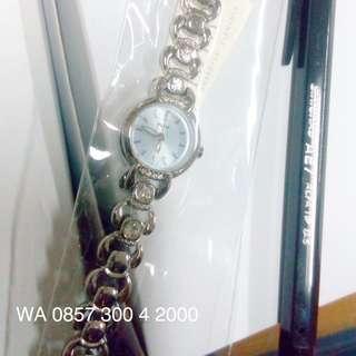 Alba AC3S77X1 Ladies Jam Tangan Wanita AC3S77 Bundar Biru Kecil Original