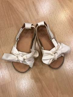 Zara Girls Leather Shoes