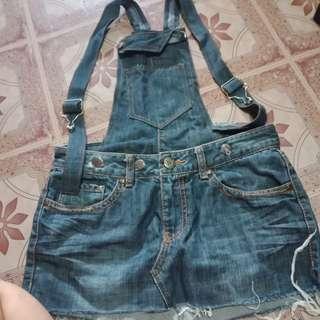 Maong Jumper Skirt