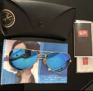 Rayban Aviator Sunglasses Authentic
