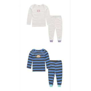 CARTER'S LONG SLEEVE 2PCS SET