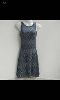 ⚁ 2 for $10 - H&M Navy Blue Dress