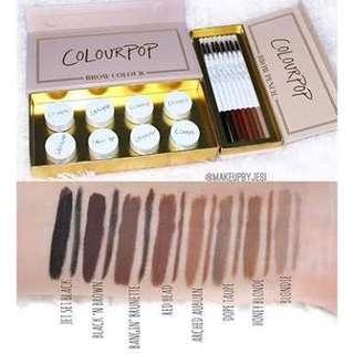 Colourpop precision brow colour (brow pomade) shade: bangin' brunette