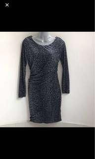 ⚀ MNG Mango Leopard Print Dress