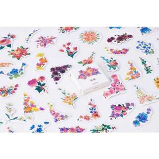 [IN] [ST] Boxed Stickers: Flowers (#BOS-282)