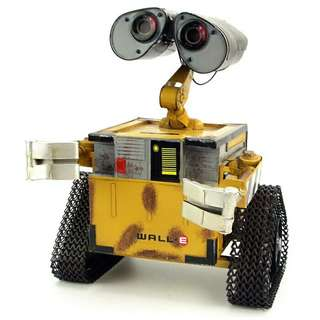 Wall E movie Retro iron American punk robot decoration creative metal arts and crafts living room bookcase decoration