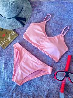 Pastel Strappy Swimsuit