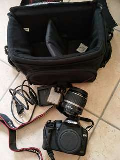 Canon 500D with lenes