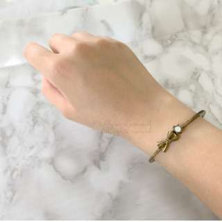 MADE IN JAPAN Gargle Vintage Ribbon Bow Cute Bracelet 蝴蝶結手鐲