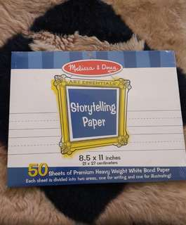 Storytelling paper