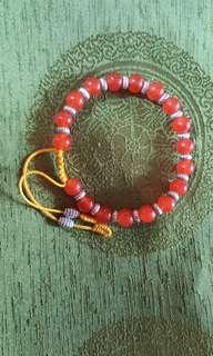 Carnelian Beads Bracelet (Large)