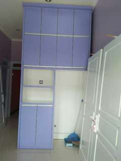Kitchen Set bahan Kayu Meranti