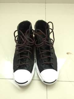 Converse Jack Purcel Hi cut Leather