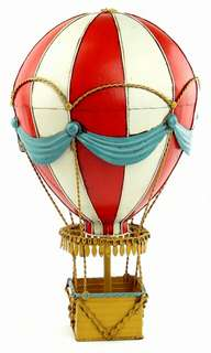 Custom Metal 19th century fire balloon model Home Furnishing bar restaurant decoration accessories creative decoration
