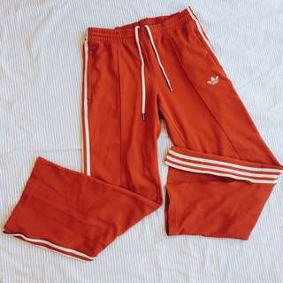 Red Adidas Jogging Pants