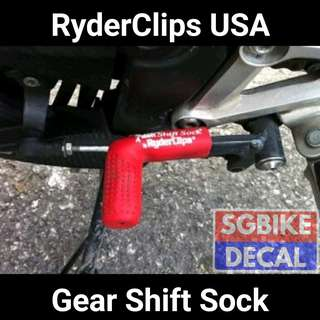 Ryder Clips Red gear sock