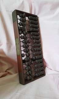 Vinyage Chinese abacus