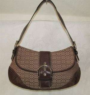 ‼️REPRICED‼️Authentic Coach Jacquard Leather Soho Bag
