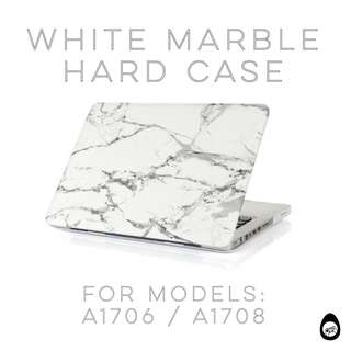 🚚 Matte marbled hard case for 2016 2017 MacBook Pro with Touchbar a1708 a1706