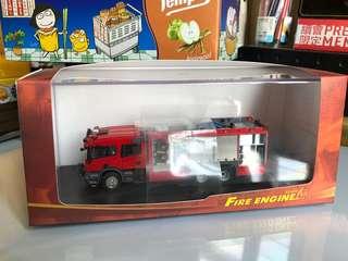 1:76 香港消防軌道車(F7001)模型
