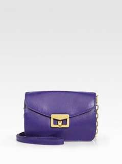 AUTHENTIC MARC JACOBS PURPLE BIANCA JANE ON CHAIN