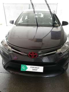 OPEN FOR STRAIGHT SWAP / FOR SALE TOYOTA VIOS E 2016 - MANUAL