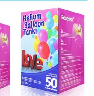 Helium tank for 50 balloons.