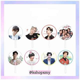 GOT7 Members Transparent Hand Fan