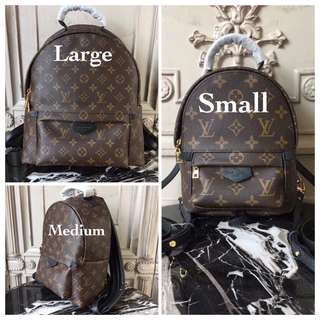 Louis vuitton classic backpack