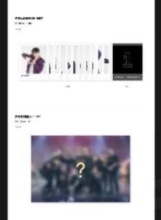 Wanna One Fancon DVD Loose Items