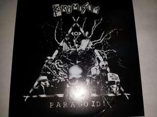 "Vinyl 7"" Record: Krömosom–Paranoid! - Australian Raw Hardcore, Punk"