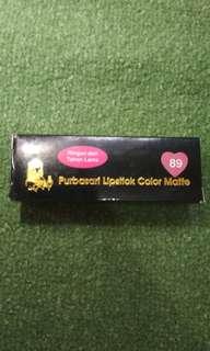 Purbasari Lipstick Color Matte No. 89(Jade)