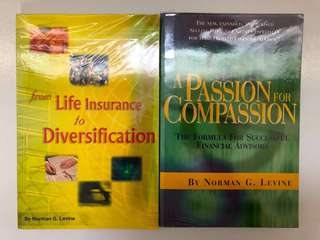 From Life Insurance to Diversification & A Passion for Compassion by Norman G Levin