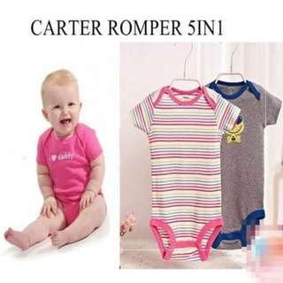 CARTER ROMPER 5IN1