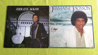 JERMAINE JACKSON.  duet with michael jackson ~ duel with whitney houston / let get serious. ( buy 1 get 1 free )