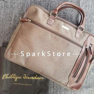 Phillipe Jourdan Luke Business Bag Brown