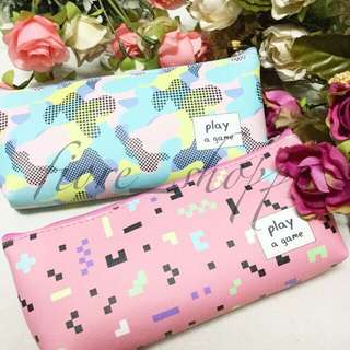 Play a Game Pencil Case Pouch