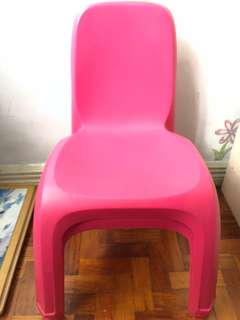 Buy 1 Take 1 Pink Chair for Kids