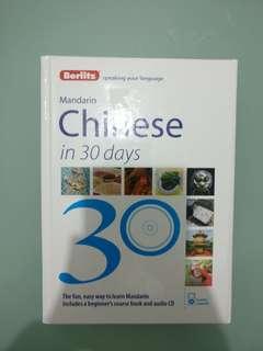 Berlitz Mandarin Chinese in 30 days