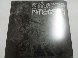 "Vinyl 7"" Record: Gehenna /Integrity–Gehenna / Integrity - Hardcore, Metal"