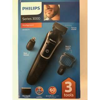 Philips Series 3000 Men's facial hair trimmer