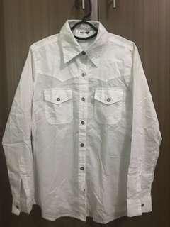 Pre Loved White Long Sleeve