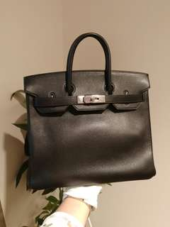 Hermes birkin HAC 28 in black