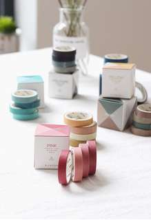 (PO) Set: The Basics Washi Tapes