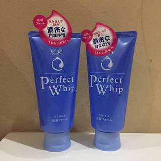 Senka Shiseido Perfect Whip 120g ** ORI **