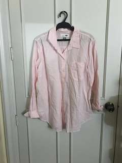 Old Navy Pink Oxford XL Polo