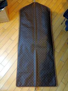 LV Louis Vuitton long size garment bag 訂做長身西裝袋