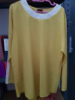 Light Yellow Blouse