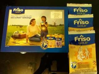 Friso GOLD 1-3 Tahun Sample Pack
